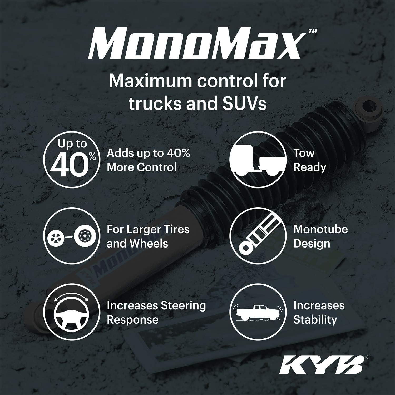 KYB 565015 MonoMax Gas Shock