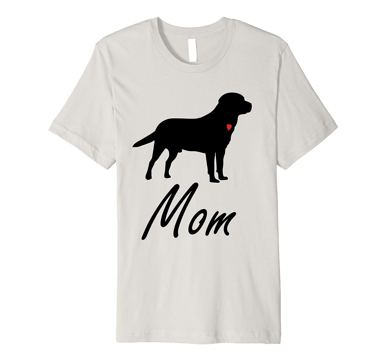 73f28e35 ... labrador retriever large black lab dog mom t shirt td teedep ...