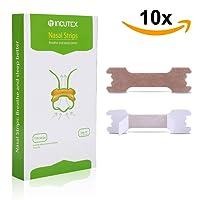 Incutex cerotti nasali per non russare cerotti per naso antirussamento, misura L