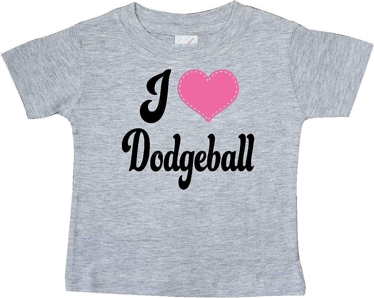 inktastic I Love Dodgeball Baby T-Shirt