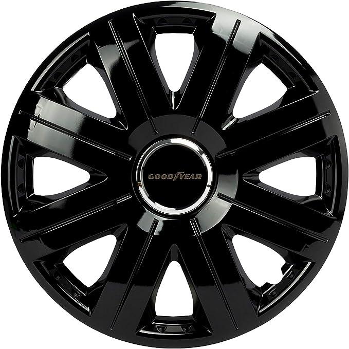 Goodyear Radzierblenden Flexo Radkappen 14 Zoll Schwarz 4 Stück Flexibles Material Für Den Perfekten Alufelgen Look Auto