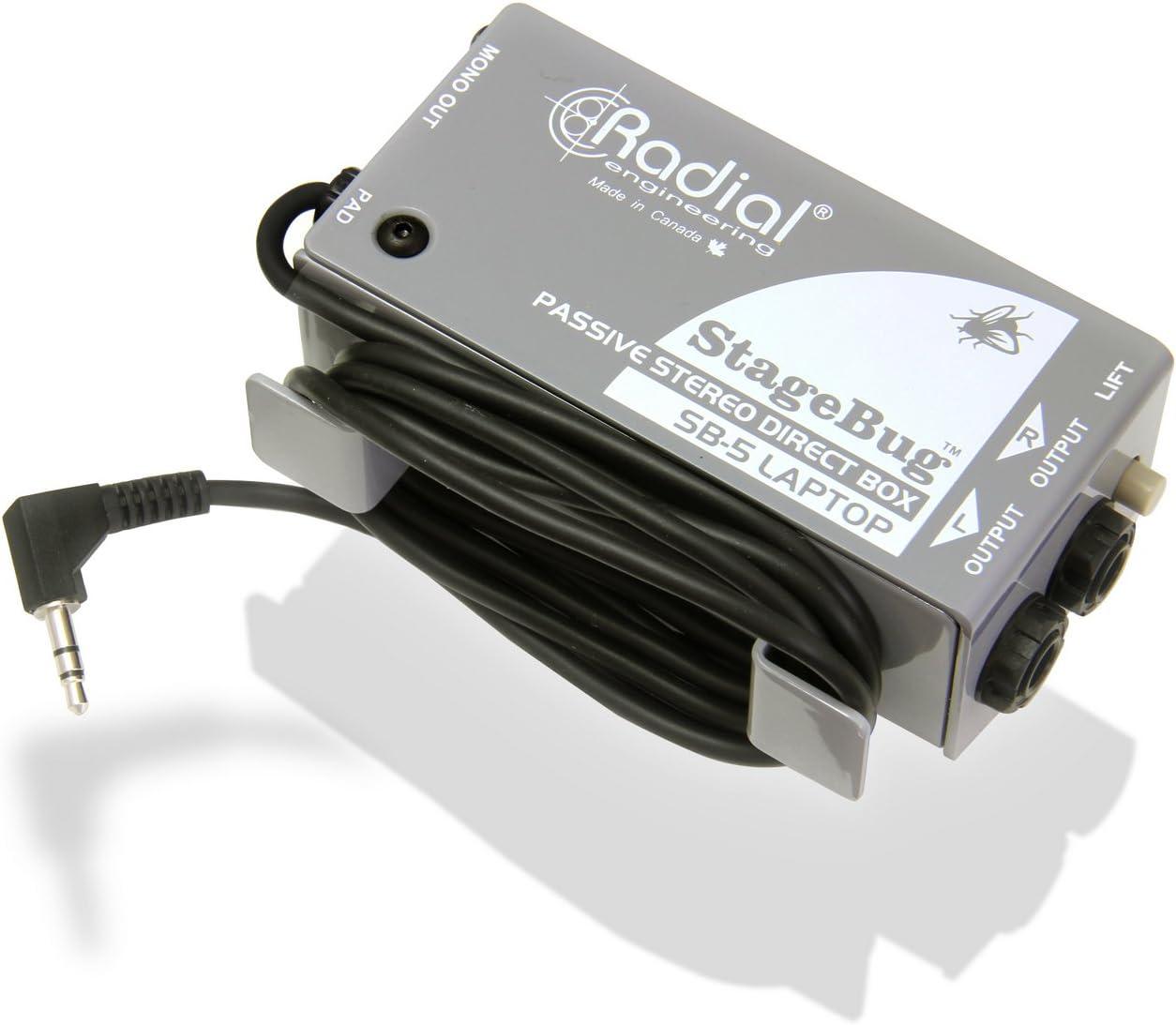 Radial SB-5 portátil   stagebug SB-5 portátil caja de inyección ...