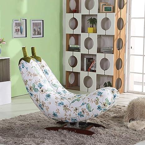 XAOPN Butaca Lazy Sofa, Banana Rocking Chair, Sofa Nap Sofa ...