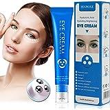 Augencreme, Augen Roll on, Augenserum, Mit Hyaluronsäure und Vitamin C, 25ml