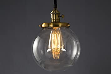 Feven moderne industrielle metall glas pendelleuchte loft lampe