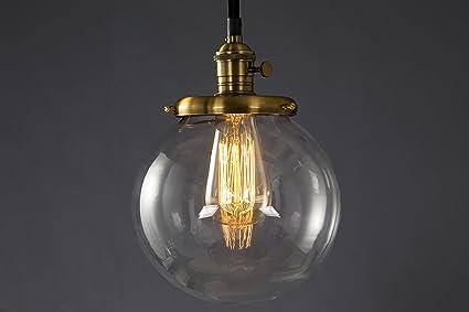 Lámpara metálica colgante de estilo industrial y moderna, lámpara de techo de estilo retro, lámpara vintage