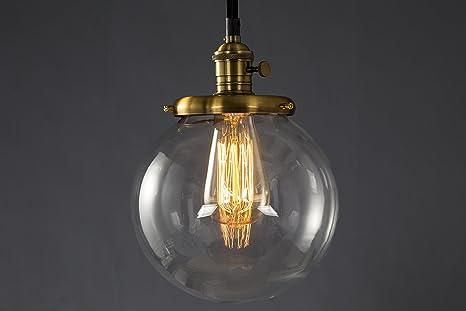 Plafoniere Vetro Vintage : Lampada a soffitto industriale moderna stile retro in metallo e