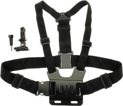 Optix Pro U6297 Brust Halterung Körper Gurt Geeignet Für Action Cams Gopros Schwarz Elektronik