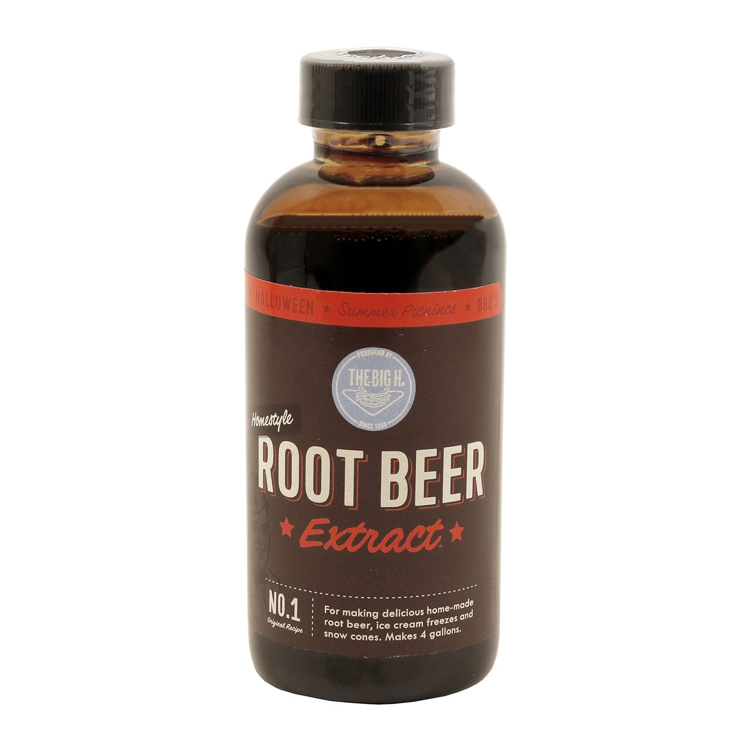 Hires Big H Root Beer Extract, Make Your Own Root Beer - 1 Pack by Hires Big H