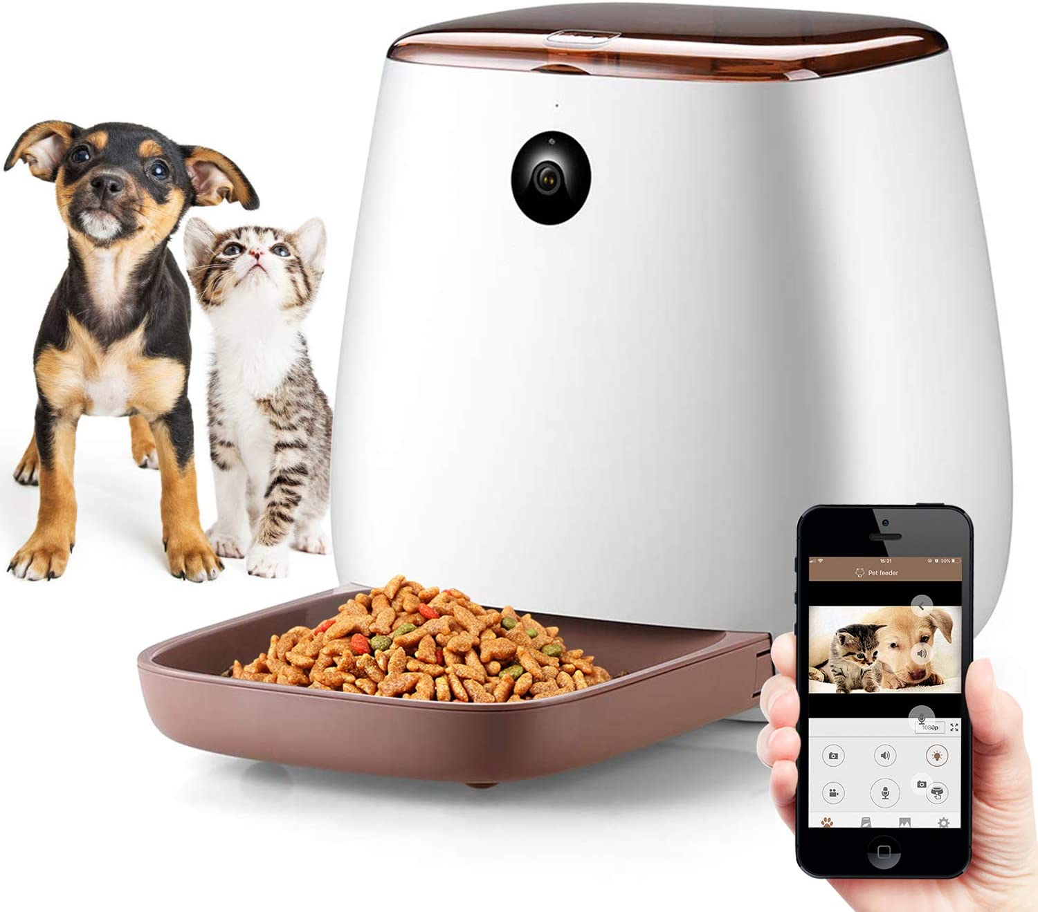71IcZ lk2ML. AC SL1500 - Best automatic feeder for cat: 12 products reviewed