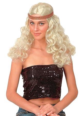 Riendo Et Confetti FIEHIP024 - Accesorio para disfraz, peluca ...