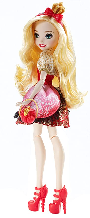 a2a8b454ba5ad Amazon.com  Ever After High First Chapter Apple White Doll (Discontinued by  manufacturer)  Toys   Games