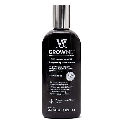 Champú Anticaida, Watermans Mejor cafeína, argan oil, biotin champú para la pérdida del cabello, Tratamiento para el Cabello, Estimula el Crecimiento ...