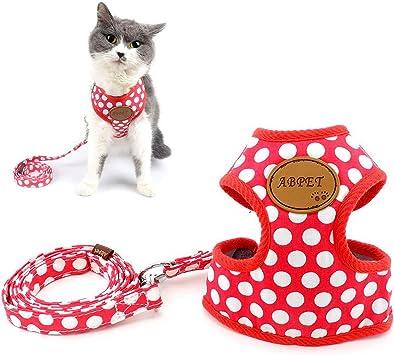 Zunea arnes Gato Nylon Soft Mesh Transpirable para Mascotas ...