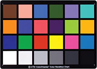 X-Rite ColorChecker Classic, color Rendition chart MSCCC DKMCC