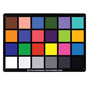 X Rite Colorchecker Classic Color Rendition Chart Amazon