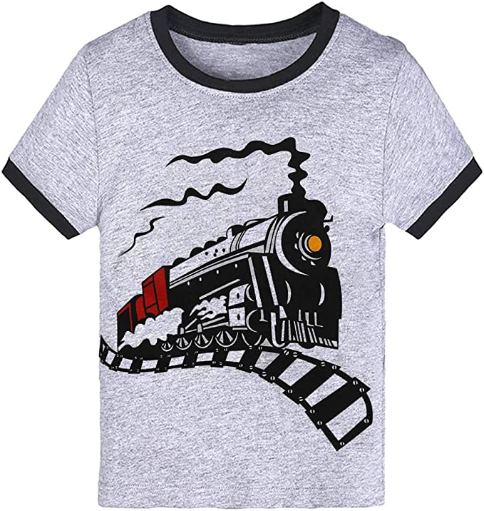 4th Birthday Gift for Boys 4 Year Old Boy Truck Toddler//Kids Long Sleeve T-Shirt