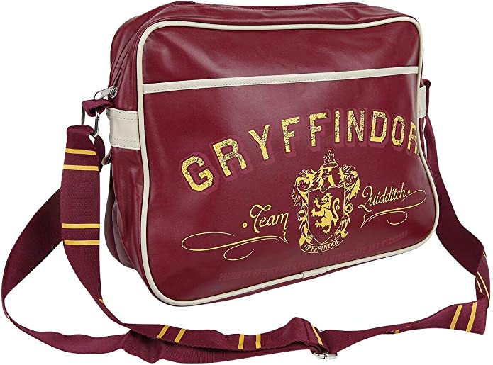 Half Moon Bay Bolsa Retro de Harry Potter, Diseño con escudo de Gryffindor