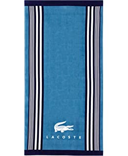 Lacoste Oki Beach Towel Teal