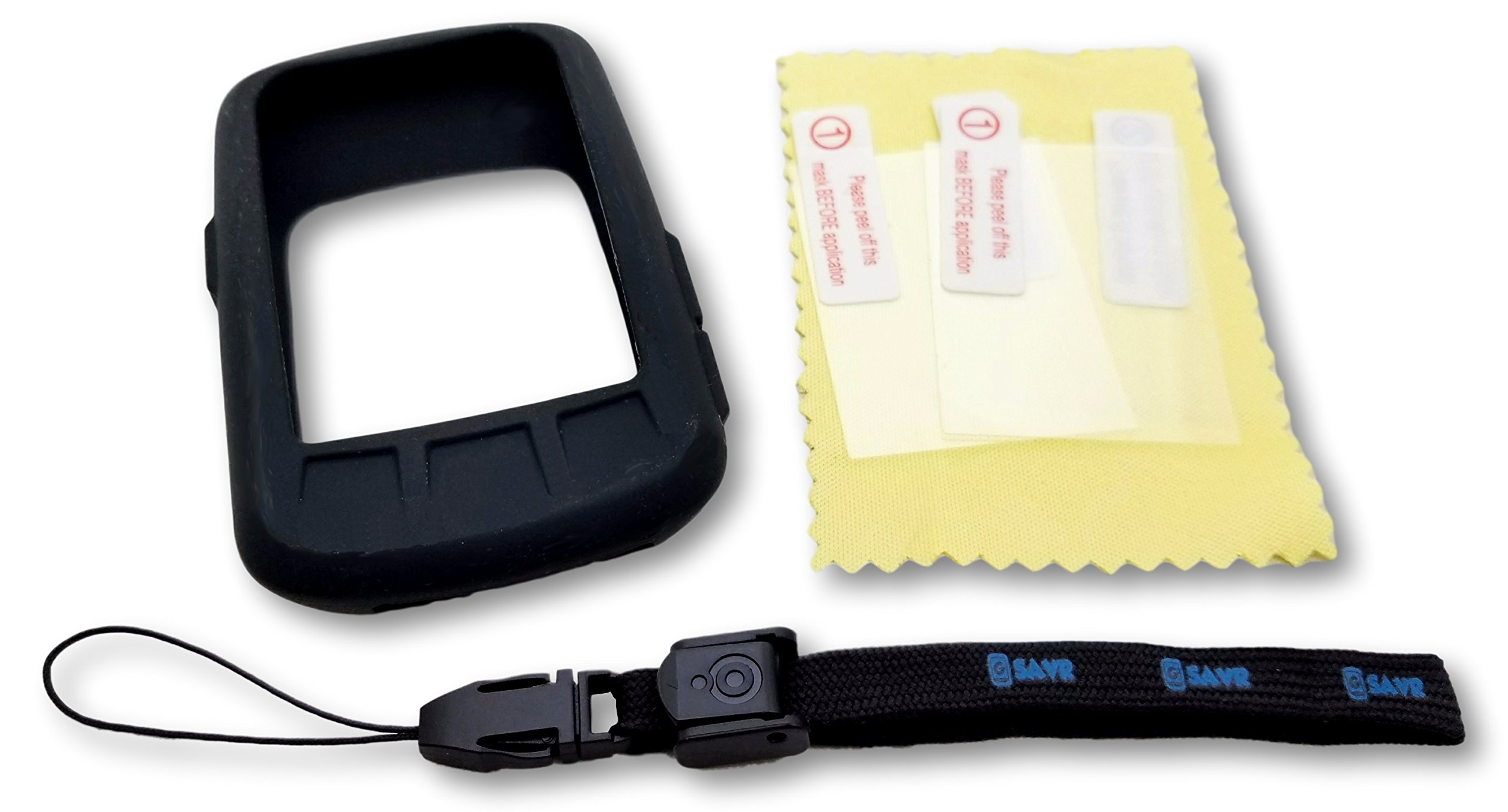 Freedom Bike Wahoo ELEMNT Bolt Ultimate Protection Bundle - Includes G-SAVR Lanyard - Tether, Molded Protective Silicone Case, and 3 Screen Protectors