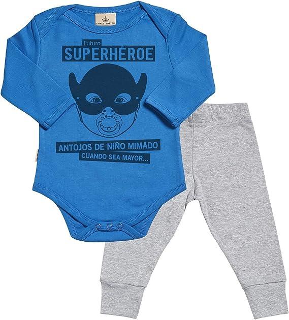 Spoilt Rotten SR - Futuro superhéroe Regalo para bebé - Azul ...