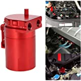 KKmoon Motor Aceite Catch Tanque de Respirable Compatible con Aleación de Aluminio…