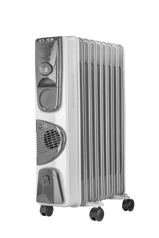 Usha 3809 F 2000-Watt Oil Filled Radiator