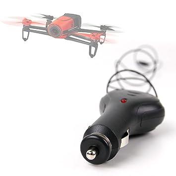 DURAGADGET Cargador Mechero Coche para Drone Parrot Bebop ...