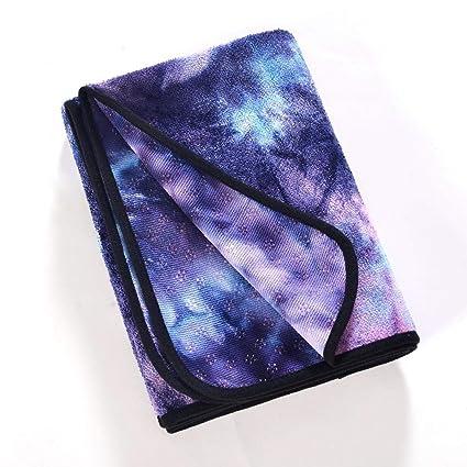 Amazon.com : MinGe Yoga Towel -Perfect Yoga Towel - Super ...