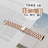 aczer-Y Fitbit Ionic Band Metal Accessories Small