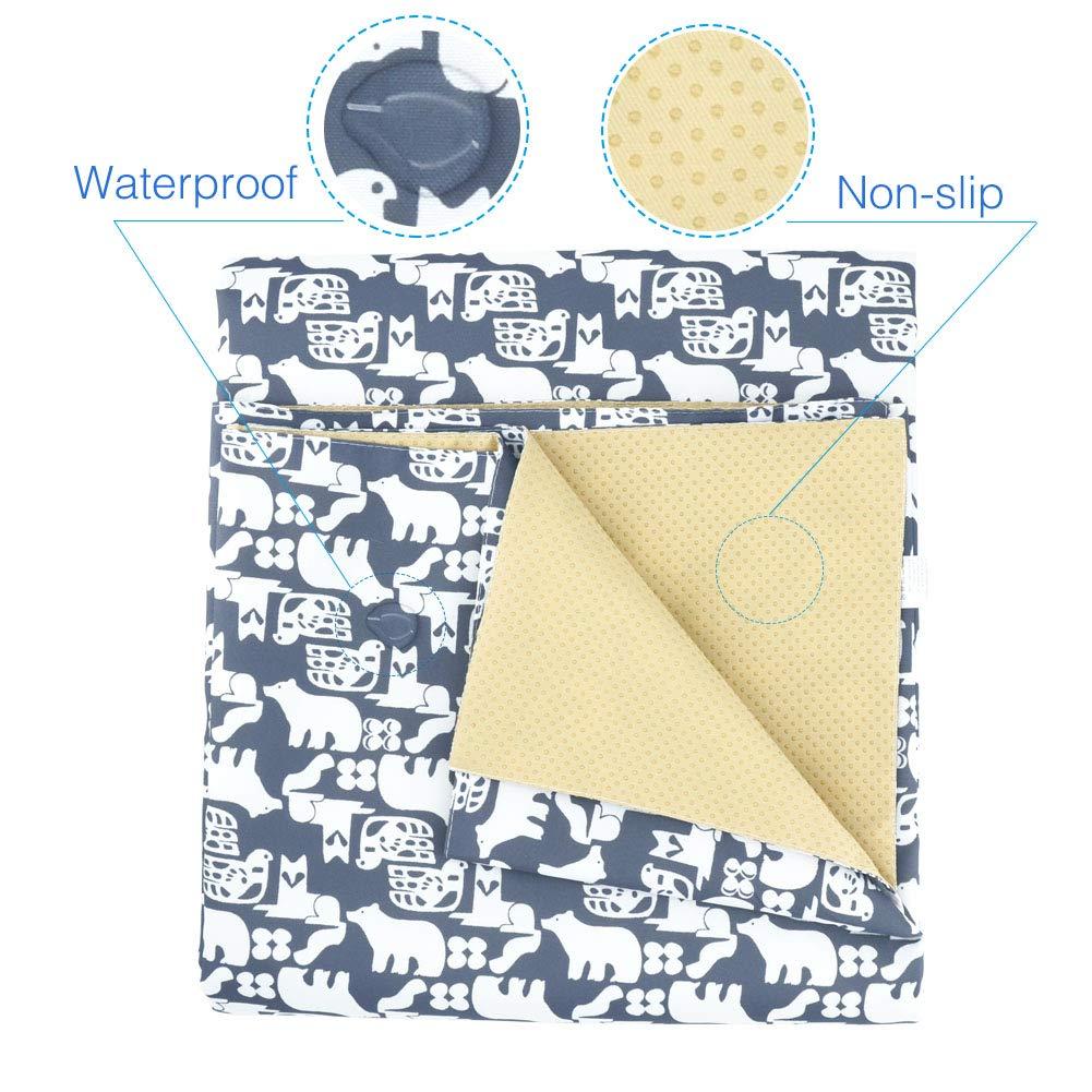 "Splat Mat for Under Highchair//Arts//Crafts Womumon 53/"" Washable Mess Spill Mat Water-Resistant Table Cloth Non-Slip Splash Floor Mat Picnic Blanket"