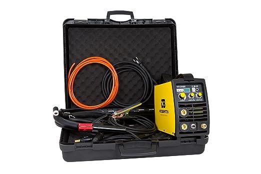 Maquina de soldar | Soldadora Inverter 200A DC WIG/TIG/MMA HF + GRATIS maletín: Amazon.es: Bricolaje y herramientas