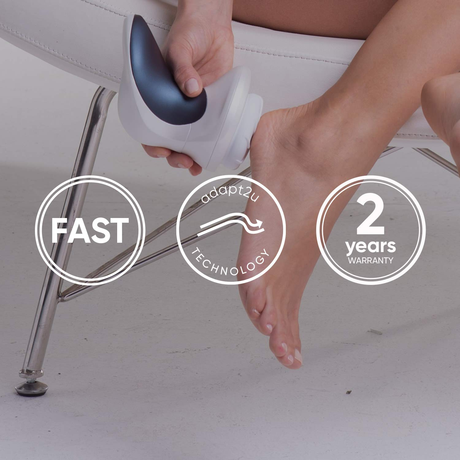 Sensimatch- Sensica\'s Portable Body Peeling And Pedicure Electronic Machine For A Rejuvenated Tighten Skin. Sensimatch Is A Great Callus For Feet, Legs Hands, Ankle, Heels, Back, Neck, Shoulders