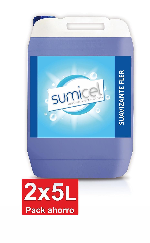 Suavizante liquido para la lavadora, 2 garrafas de 5 L: Amazon.es ...