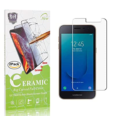 The Grafu Screen Protector for Galaxy J2 Core, 9H Hardness Tempered Glass, Bubble Free, Anti Scratch Screen Protector for Samsung Galaxy J2 Core, 2 Pack: Baby