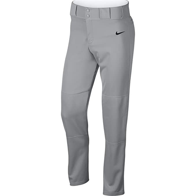 0395de5551d26 Amazon.com : NIKE Men's Core Baseball Pants, Wolf Grey/Black, XXX ...