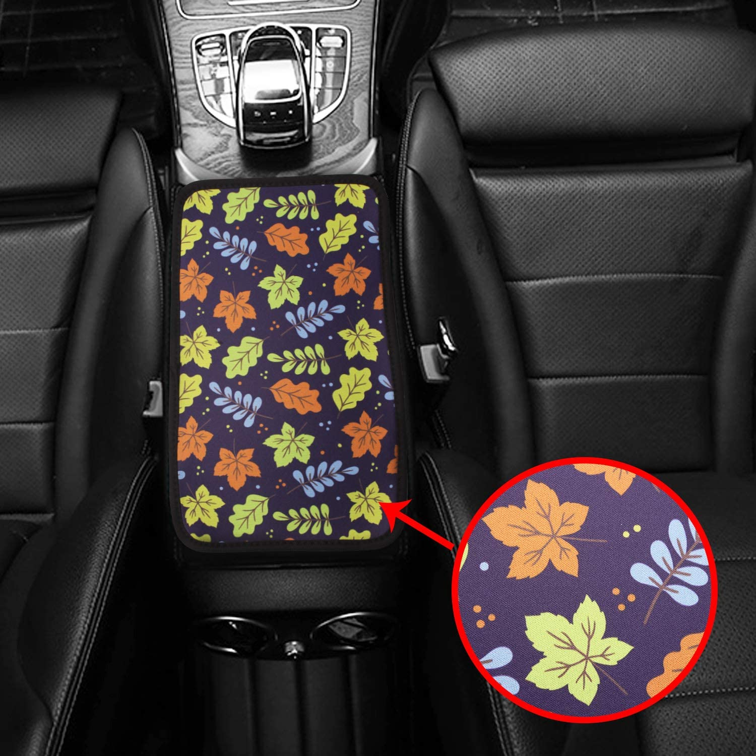 Truck Car Accessories Monrand Center Console Armrest Pad 02 Soft Cotton Universal Car Armrest Cover Fit for Most Vehicle SUV