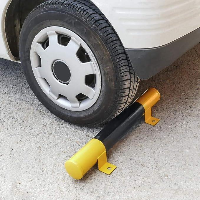 PrimeMatik - Tope de Suelo para Ruedas de Parking Aparcamiento de Metal 60 cm: Amazon.es: Electrónica