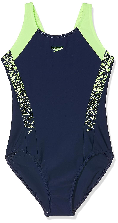 Speedo Girls Boom Splice Muscleback Swimsuit
