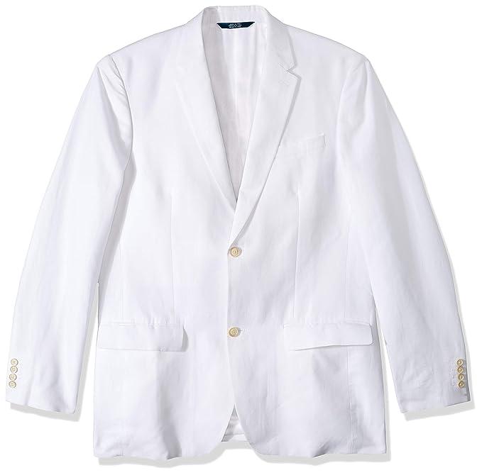 Amazon.com: Perry Ellis - Chaqueta de lino para hombre: Clothing