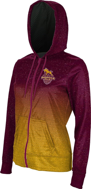 Dominguez Hills Girls Zipper Hoodie Ombre School Spirit Sweatshirt ProSphere California State University