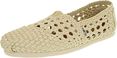 d757c5312ab TOMS Women s Classic Slip-On Flat Shoes  Toms  Amazon.co.uk  Shoes ...