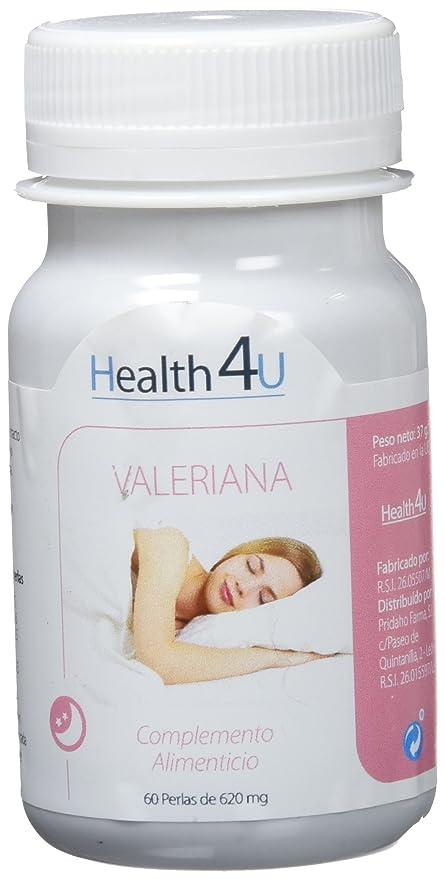 H4U - H4U Valeriana 60 cápsulas blandas de 620 mg