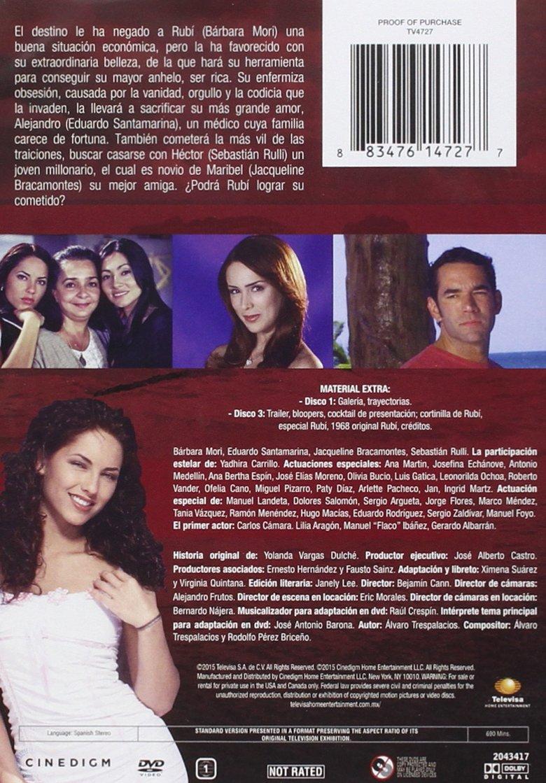 Amazon.com: Rubi: Bárbara Mori, Eduardo Santamarina, Jaqueline Bracamontes, Sebastián Ruli, None: Movies & TV