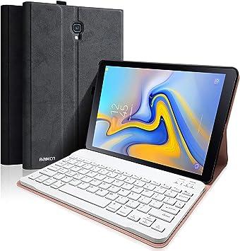 BAIBAO Teclado Tablet A 10.5 T590 para Samsung Galaxy Pro 10.5 Pulgadas SM-T590 / T595, Funda Teclado Español Inalámbrico Bluetooth Desmontable ...