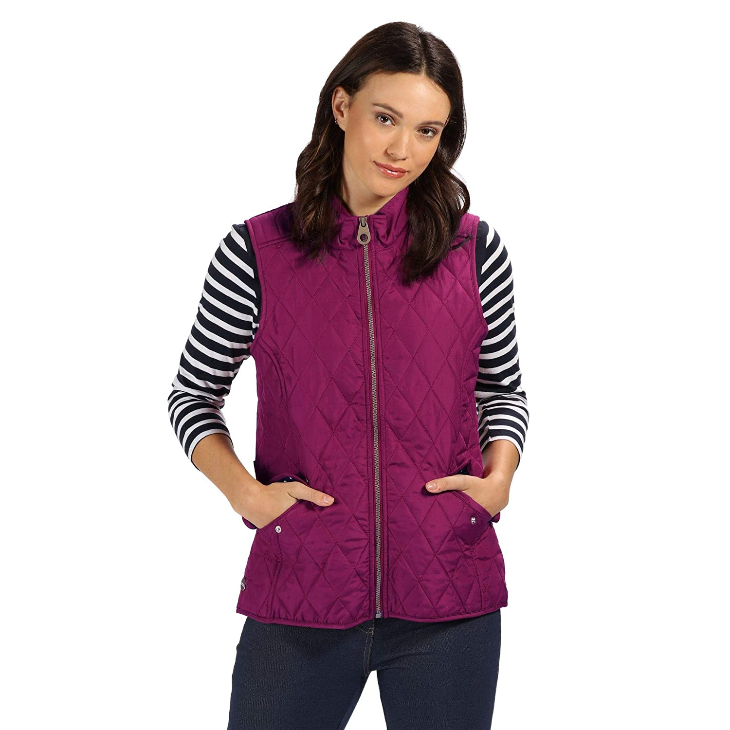Regatta Cressida Quilted Water Repellent Insulated Bodywarmer Gilet Blouson Femme