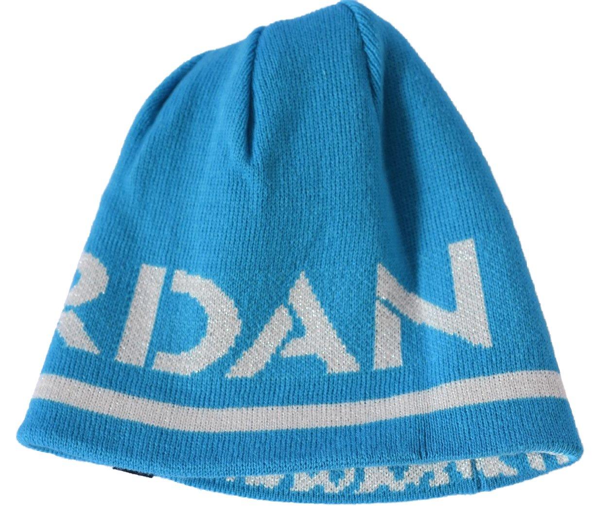 Amazon.com  Jordan Reflections Blue Lagoon Reversible Boys Beanie Hat Size   8 20  Sports   Outdoors 651474356c53