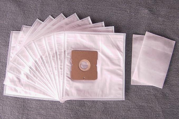 10 Sacs aspirateur compatible pour Clean Bag 101 DAE 1, aspirateur sacs à poussière (+2 Filtres NV603)