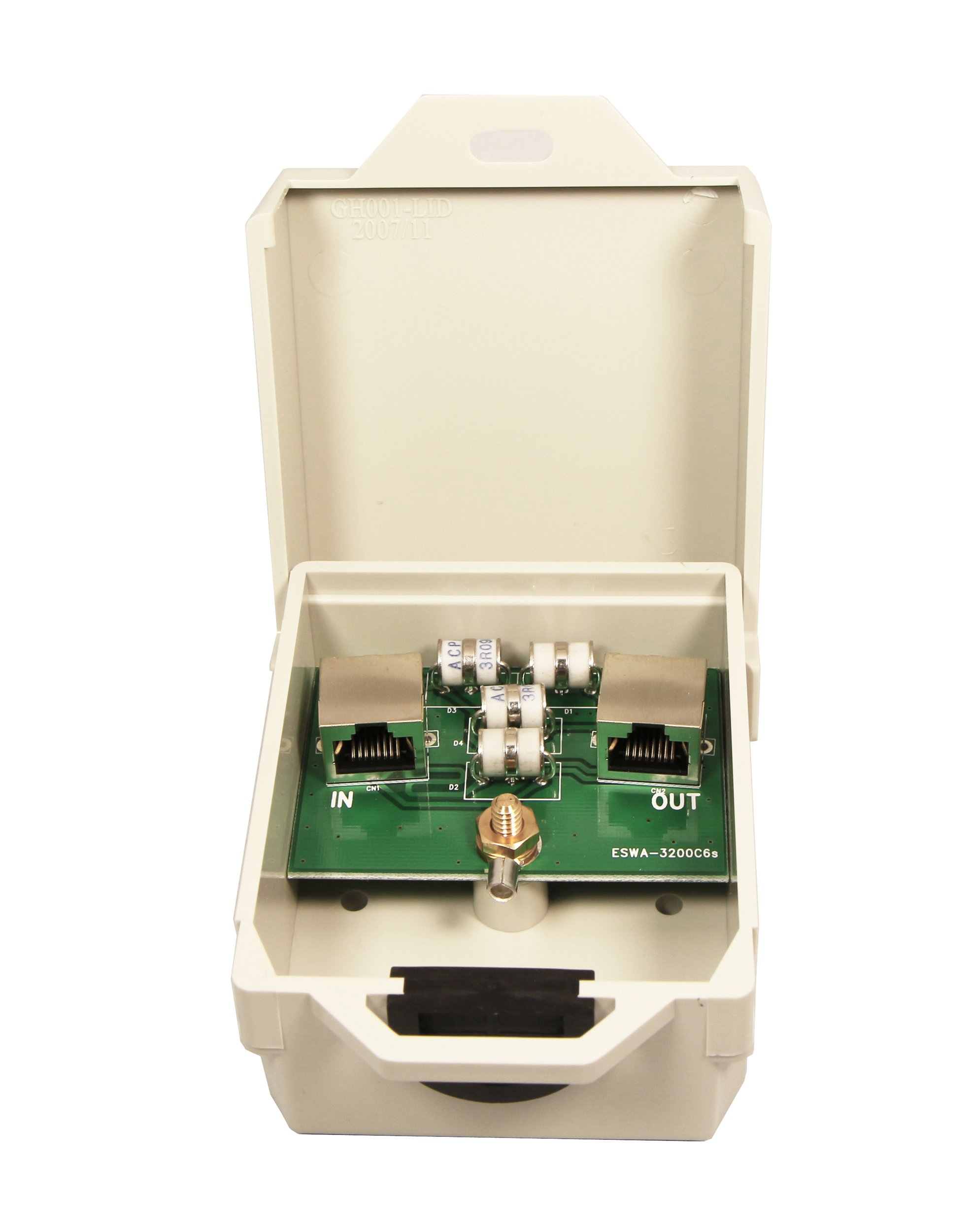 Tupavco TP303 Ethernet Surge Protector Outdoor for PoE+ Gigabit 1000Mbs - LAN Network Thunder Lightning Surge Protection Suppressor/Arrester