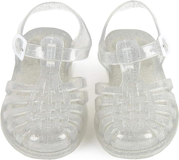 Sandales en Plastique pailletée Sun: : Chaussures